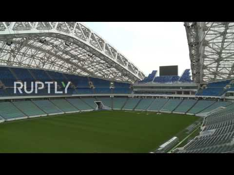 Russia: Sochi's Fisht Olympic Stadium ready for FIFA 2018 World Cup