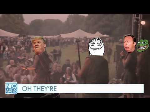 Hillary's Into Creepy, Weird, Sick Stuff, Man. Karaoke Sing Along Alex Jones Infowars.com Folk Song