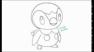 How to Draw Piplup
