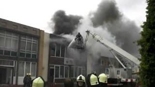 Brand Grotestraat Waalwijk