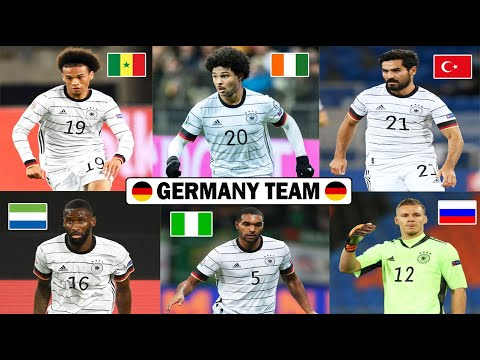 Get To Know The Origin Of Germany Team Football Players 2020 Ft Leroy Sané,Gnabry,Gundogan,Ozil,Leno