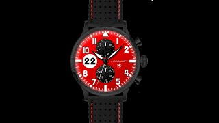 RELOJ DE PILOTO TYPE 1 MONZA video