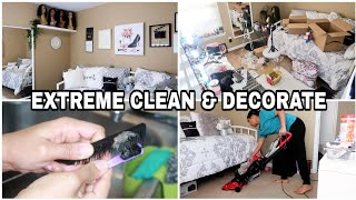 CLEAN & DECORATE WITH ME 2020. SPEED CLEANING MOTIVATION. Beauty/Guest Room