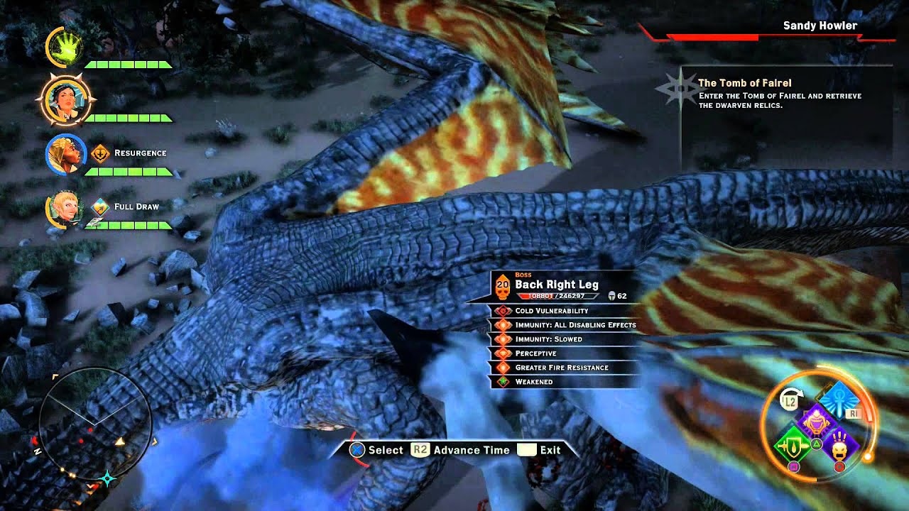 Dragon age inquisition dragon 03 quot hissing wastes quot youtube