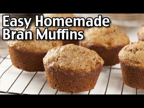 Easy Homemade Amish Bran Muffins