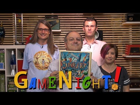 Junk Art - GameNight! Se5 Ep18