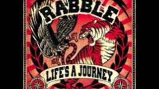The Rabble - We Are Like Ghosts ( Running Away ) **LYRICS**