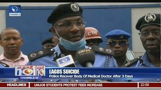 News@10: Police Recover Body Of Medical Doctor After 3 Days 22/03/17 Pt 1