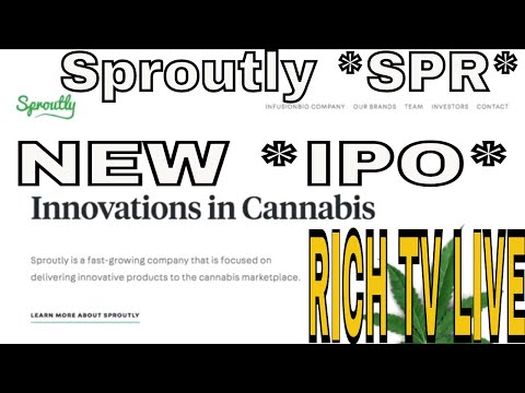 SPROUTLY (SPR) CANADA INC. *NEW IPO* IS A NEW STOCK TO BUY IN 2018