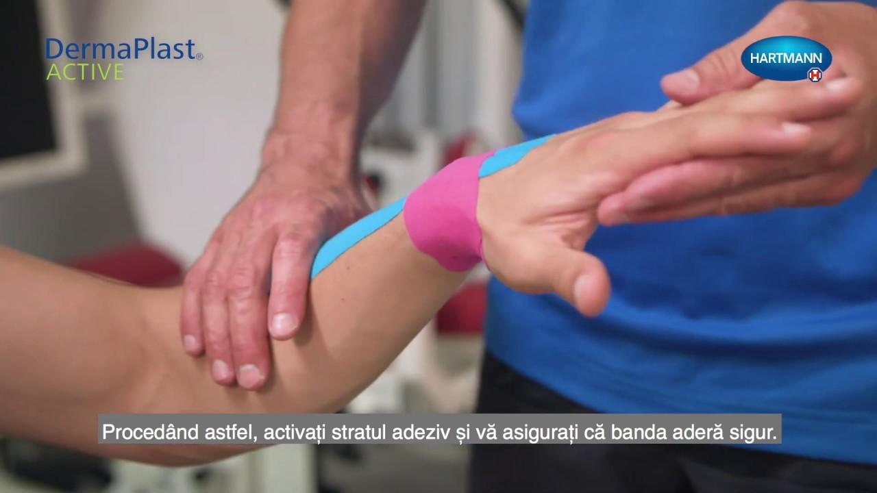 cum se face bandă pentru tratamentul articulațiilor)