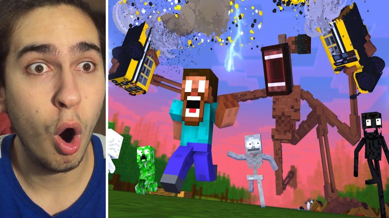 SİREN KAFA ÖLÜYOR !! (Siren Head Minecraft)