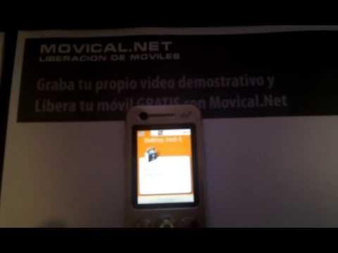 Liberar Sony Ericsson w890i por código en Movical.Net