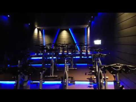 Oxygen Gym Kuwait '' The Dark Tunnel''