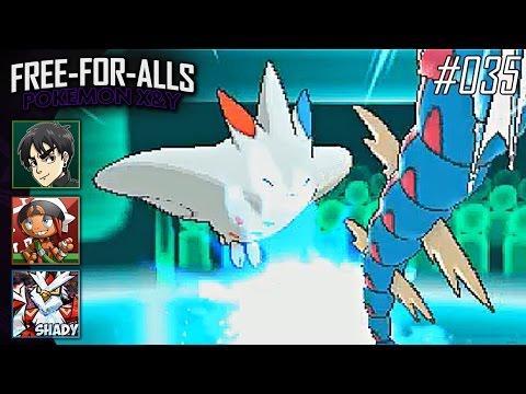 Pokémon X&Y FFAs #035 Feat. ShadyPenguinn, NateWantstoBattle, & HoodlumScrafty!!