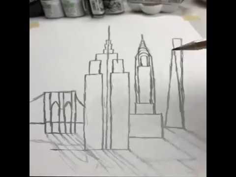 El arte de Dibujar (NUEVA YORK) - YouTube