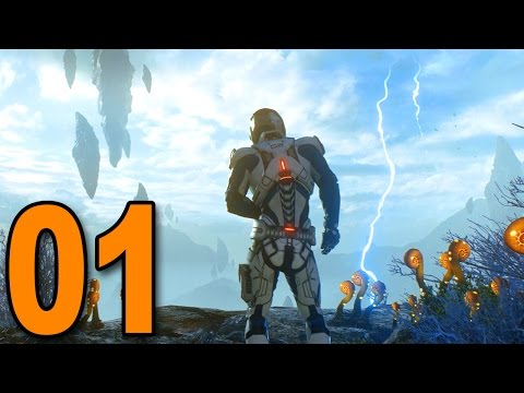 Mass Effect: Andromeda - Part 1 - THE BEGINNING! (Early Gameplay)