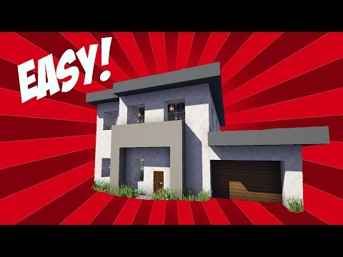 Minecraft: How To Build A Small Modern House #1