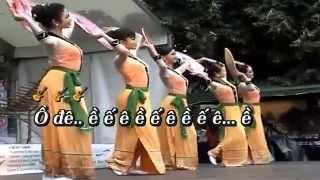 [Karaoke HD] CÔ GÁI SẦM NƯA XINH ĐẸP - Ngọc Ký