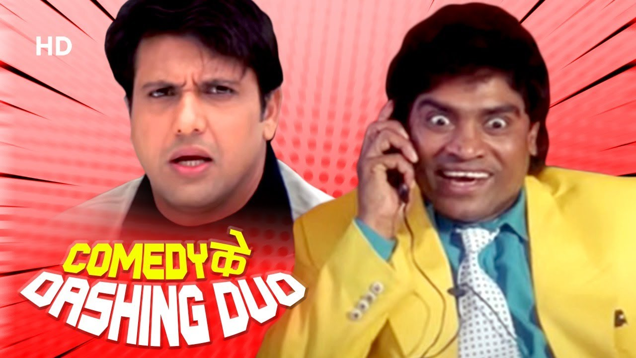 Comedy के Dashing Duo - Govinda & Johny Lever | Kunwara - Hadh Kar Di Aapne | Hindi Comedy Scenes