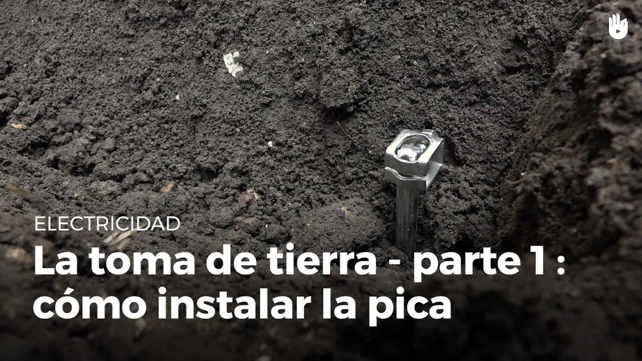 C mo instalar la pica de una toma de tierra electricidad for Instalar toma de tierra