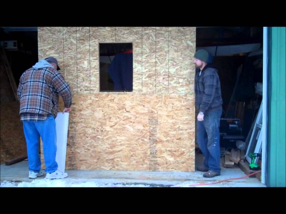 Episode 10 sheathing house wrap window youtube for Sheathing house wrap