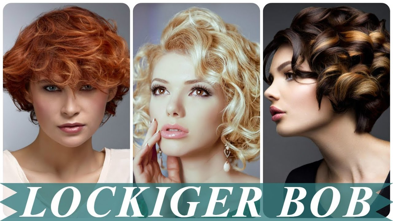 Coole Bobfrisuren Mit Locken 2018