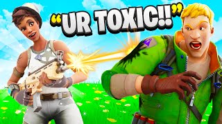 I Trolled Him With RECON EXPERT - Fortnite