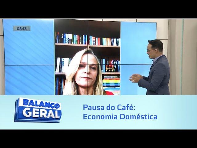 Pausa do Café: Economia Doméstica
