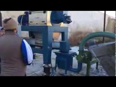 Separatore di sansa Clemente montato su centrale biomassa
