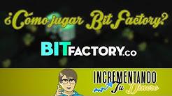 Ganar bitcoins con BitFactory | Nuevo juego