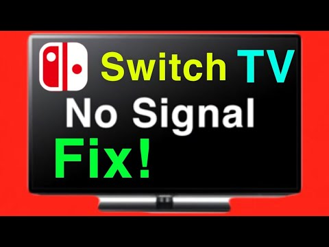 Nintendo Switch Won't Doesn't Connect To TV How To FIX!