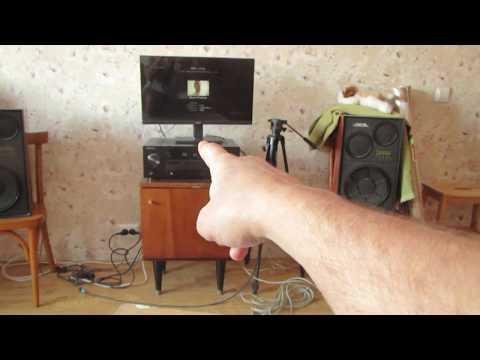 КАК ВКЛЮЧИТЬ потоковое воспроизведение музыки по Dlni на ресивер AV RECEIVER PIONEER VSX-827