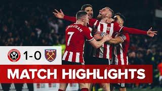 Sheffield United 1-0 West Ham United | Premier League highlights