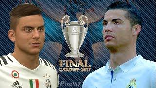 FIFA 17 REMAKE: CRISTIANO RONALDO VS PAULO DYBALA GOALS & SKILLS 2017 | UCL FINAL 2017 | Pirelli7