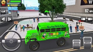 Ultimate Bus Driving - Free 3D Realistic Simulator #4 - Android gameplay