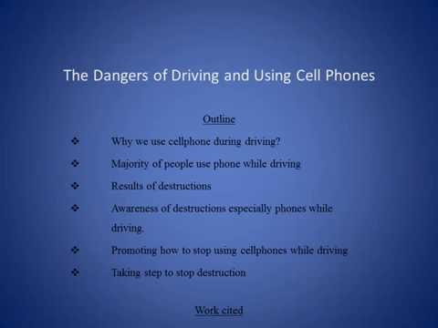 the dangers and risks of using cell phones while driving Perhaps you've heard the claim that talking on the phone while driving is as risk of taking your eyes off the cell conversations have different crash risks.