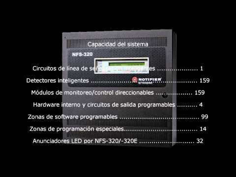 Panel De Control Notifier NFS 320