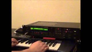Roland JV 1080 - Preset Bank B - 54   Syncrosonix
