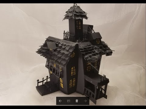 Haunted House from Cricut!