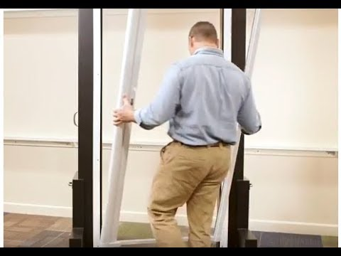 How To Install An Andersen Luminaire Retractable Screen Door