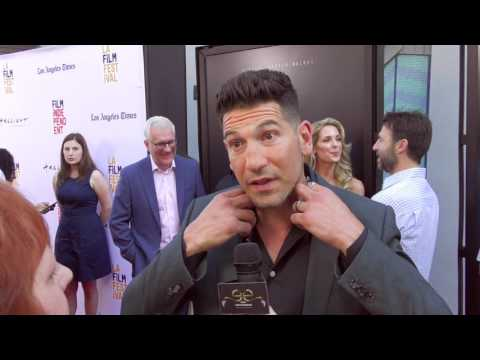2017 Los Angeles Film Festival  Carpet Chat with Jon Bernthal