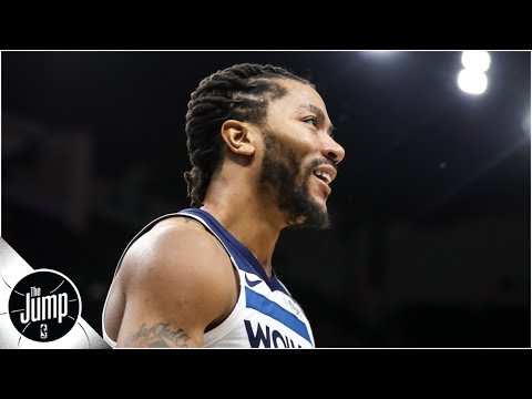 Derrick Rose is 'sixth man of the year, no question about it' - Tracy McGrady | The Jump