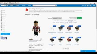 HOW TO CREATE PANTS IN ROBLOX