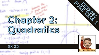 Quadratics 4 • Solטing by Completing the Square • P1 Ex2D • 🤖