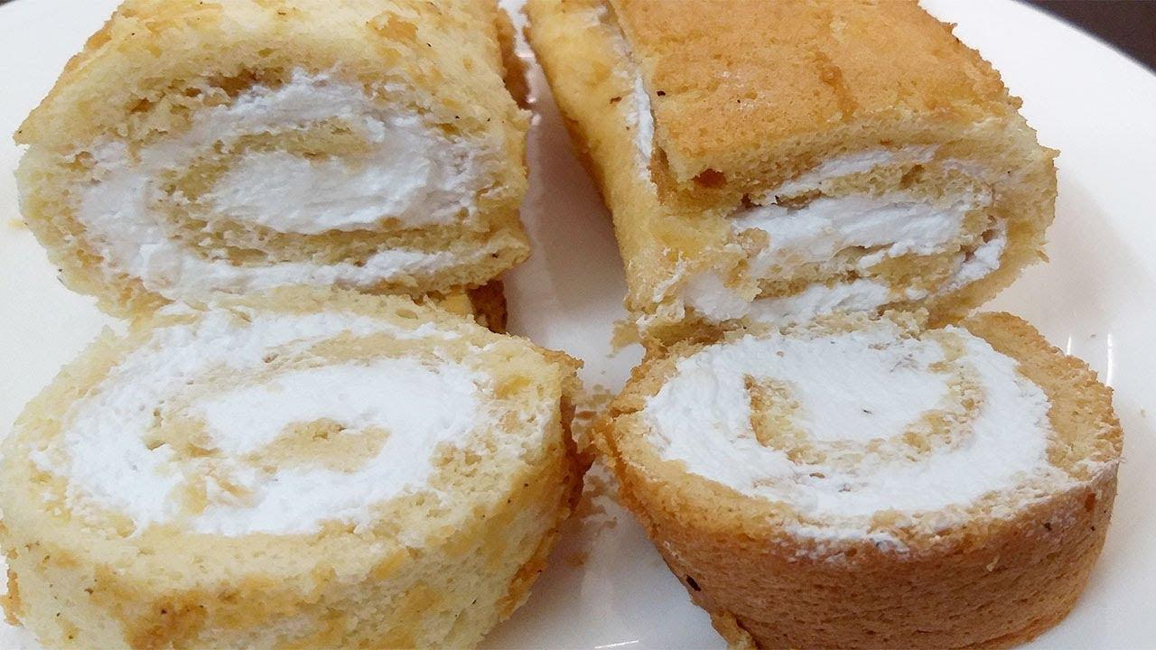 Cách làm Bánh Bông Lan cuộn kem ngon mềm mịn tại nhà ăn là nghiền by Xanh TV