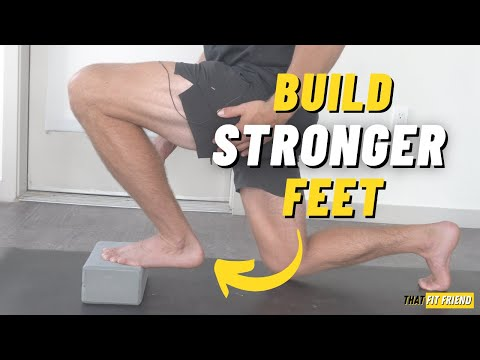 4 ACTIVE FOOT Exercises for STRONGER Feet