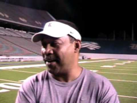 Rice RB Coach, Darrell Patterson