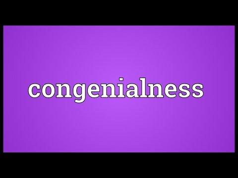 Header of congenialness