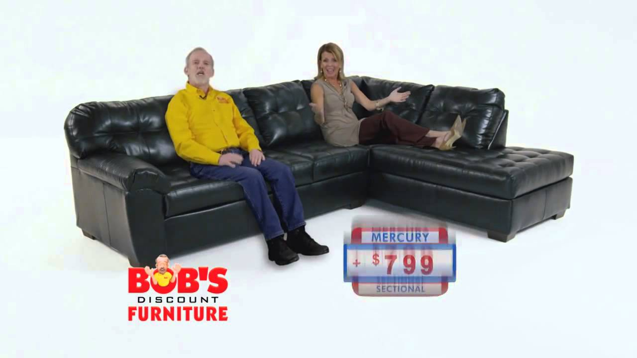 Bob 39 S Discount Furniture Mercury Sectional Youtube