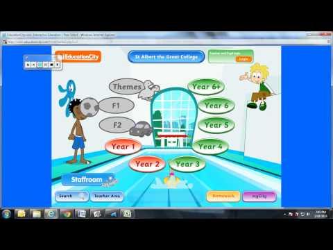 Educationcity login information.avi